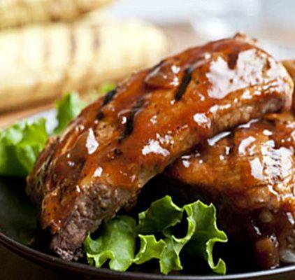 Honey Glazed BBQ Ribs | food | Pinterest