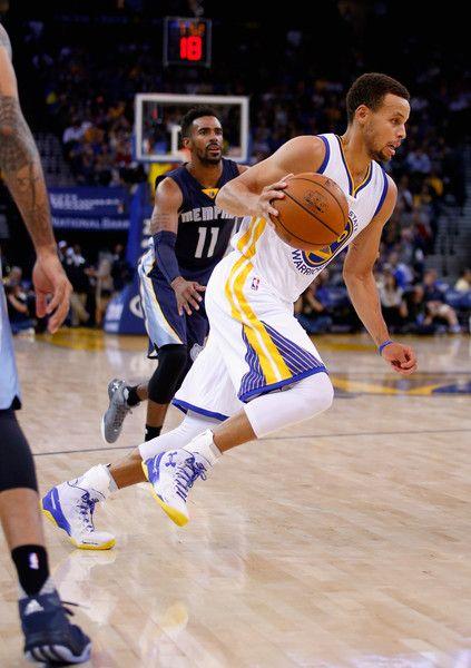 Stephen Curry Photos - Memphis Grizzlies v Golden State Warriors - Zimbio