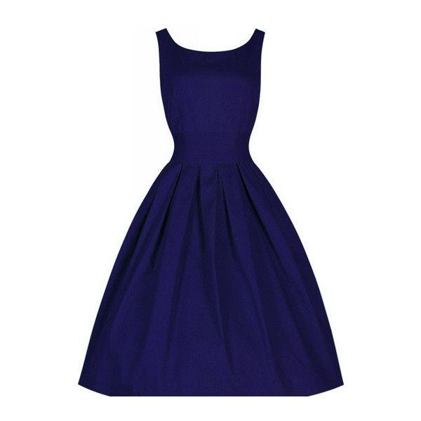 1000  ideas about Blue Vintage Dresses on Pinterest - Blue dresses ...