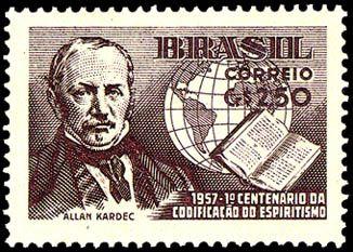 HIPPOLYTE LÉON-DENIZARD RIVAIL (ALLAN KARDEC) - Allan Kardec nasceu Hippolyte Léon-Denizard Rivail, a 03 de Outº. 1804 em Lyon, França, numa antiga família de magistrados e advogados. Educado na Escola de Pestalozzi, Suíça, tornou-se um de seus discípulos mais eminentes. 1855, duvidou das manifestações dos Espíritos, Allan Kardec entregou-se a observações perseverantes sobre esse fenômeno, e, Nele entreviu,  o princípio de novas leis naturais; as relações do mundo visível e invisível;