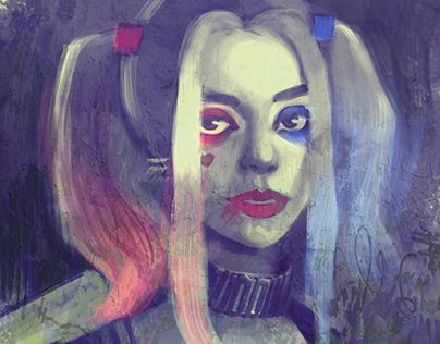 """Check out new work on my @Behance portfolio: """"Harley Quinn""""…"""