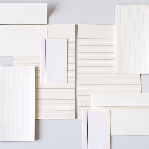 印刷加工連 便箋 - dressense