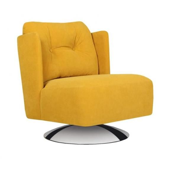 Sits Hisha Button Back Swivel Chair