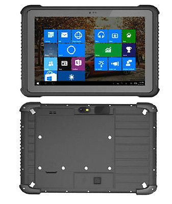 10.1 Inch Win10 rugged tablets pc with wifi RJ45 RS232 Rugged Tablets
