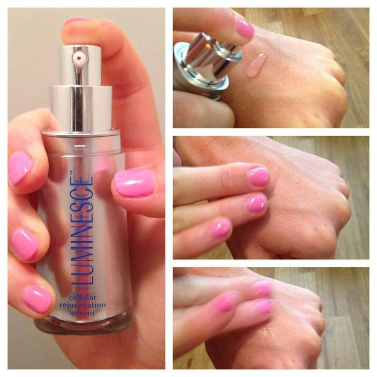 A great way to apply your #LUMINESCE™ cellular rejuvenation serum is from the back of your hand. Just press down once on the pump and then use your fingertips to apply the serum to your face. This way no product goes to waste AND your hand gets a treatment. Alternate between hands when applying morning/night.