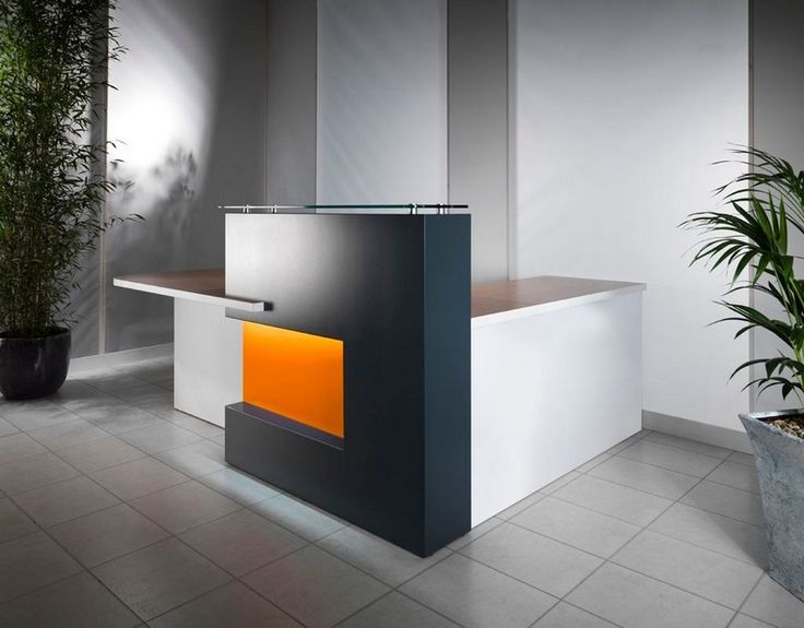 Small Office Reception Design Ideas: Furniture, Small Reception Desk Design For Contemporary