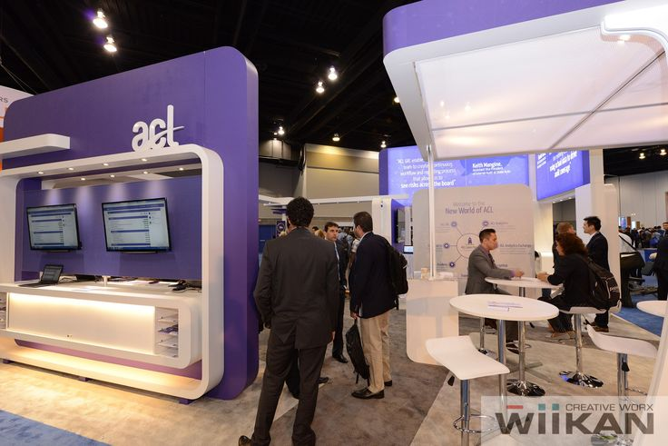 ACL Systems Ltd - Meeting Area and Demo station, Custom 30x30ft Booth, IAA 2015
