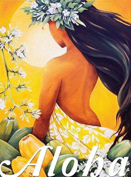 Aloha Hawaiian Art