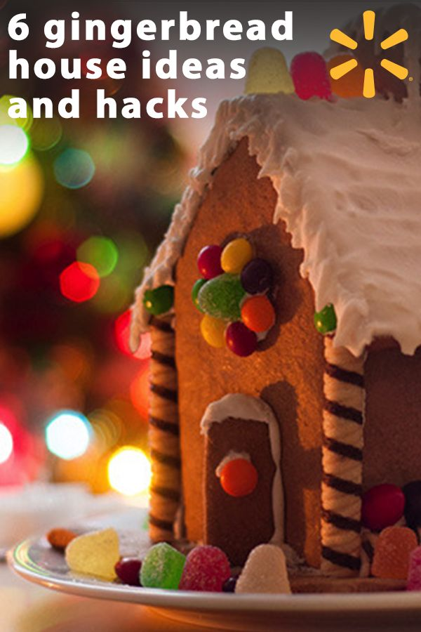 """Gingerbread houses. So fun and oh-so-festive. Even when they're a bit messy because your 6-year-old did most of the """"decorating,"""" these traditional holiday treats are adorably edible. Learn more with tips, ideas and expert articles from Walmart and have a deliciously fun holiday."""