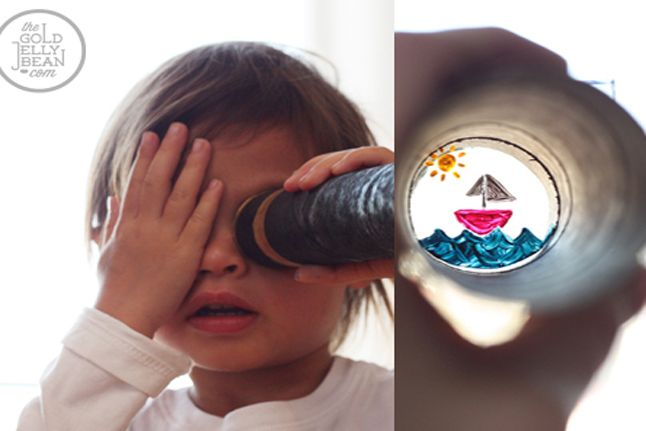 Telescopes for Kids - http://www.pbs.org/parents/crafts-for-kids/telescopes-for-kids/