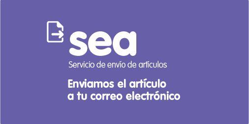 SEA. Servicio de Envío de Artículos (http://www.bbtk.ull.es/view/institucional/bbtk/Servicio_de_Envio_de_Articulos/es). Si necesitas un artículo de una revista científica disponible en una biblioteca de la ULL, no tendrás que desplazarte para conseguirlo, el SEA te lo proporciona. Lo digitalizamos y te lo enviamos a tu correo electrónico institucional. Es un servicio gratuito. Solo tienes que darte de alta, aunque si ya eres usuario del Servicio de PI te sirven las mismas credenciales.