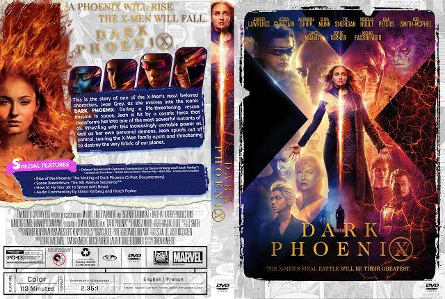 Dark Phoenix Dvd Cover Dvd Dvd Covers Dark Phoenix