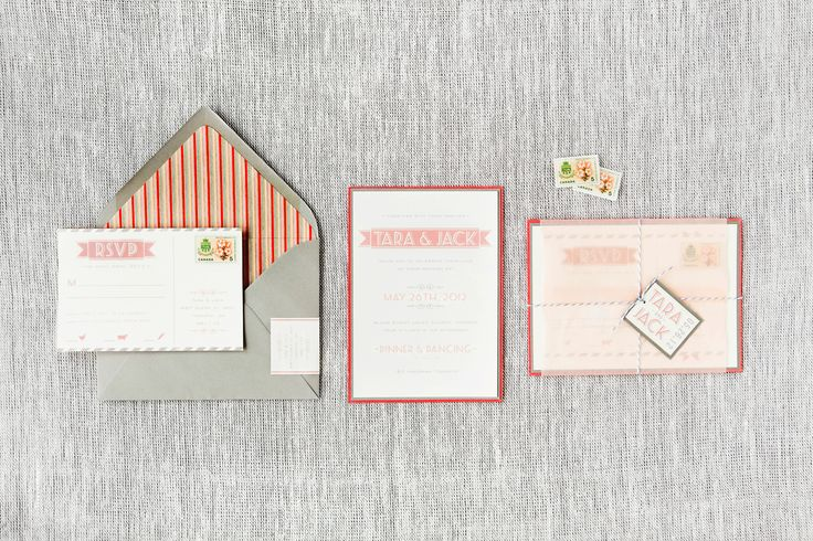 Tara & Jack - Paper & Poste Custom Invitation
