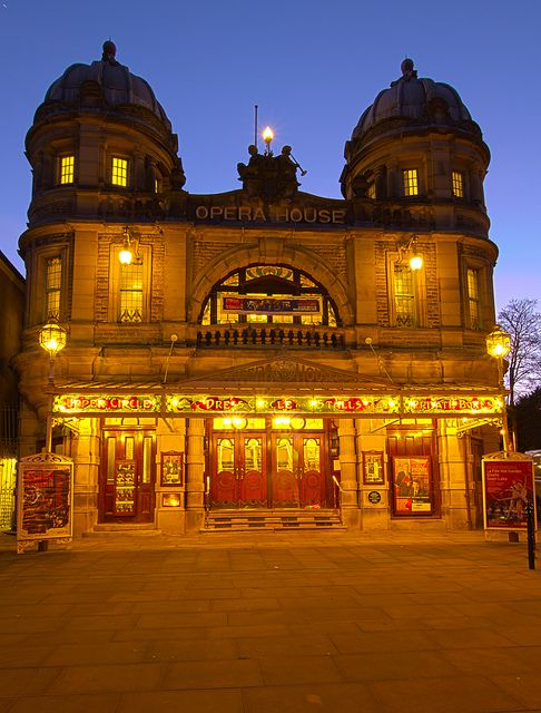 Buxton Opera House - Derbyshire, England, Can't wait to see this in person!