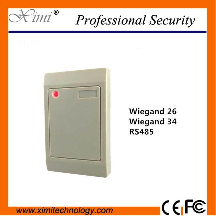 IP65 cheap 125 KHZ/card reader DC9~12V  speaker buzzer proximity card weigand26 reader #Affiliate
