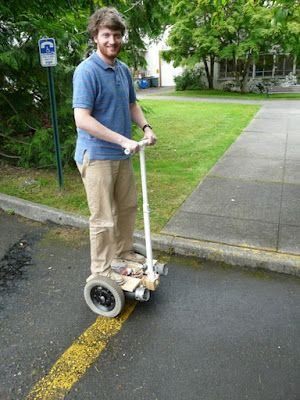 DIY Segway for under $300. Definitely something I think I am going to try, Nice!