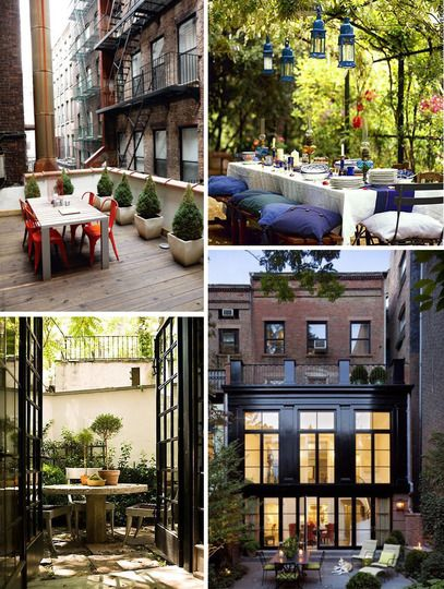 must find a patio like this in nyc...