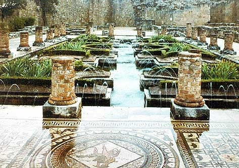 Conimbriga. The first human occupation of Conimbriga is dated from protohistory, later, with the Roman arrival in the I BCE the place turned into a city very quickly. Water systems still working :)
