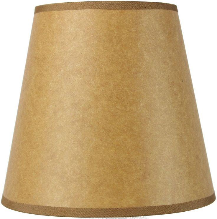 "Metal Bell Lamp Shade: 6"" Classics Brass Bell Lamp Shade"