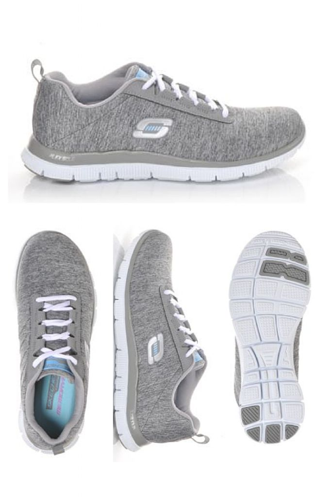 Train like a boss in these lightweight Skechers Flex appeal shoes! #fitness #workout #gear #sneakers #cool #crosstrainers