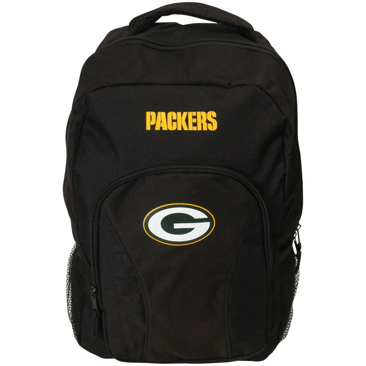 Green Bay Packers Draft Day Backpack - Black - $23.99