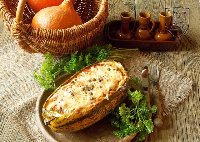 Gotowanie jest łatwe: Dynia makaronowa zapiekana