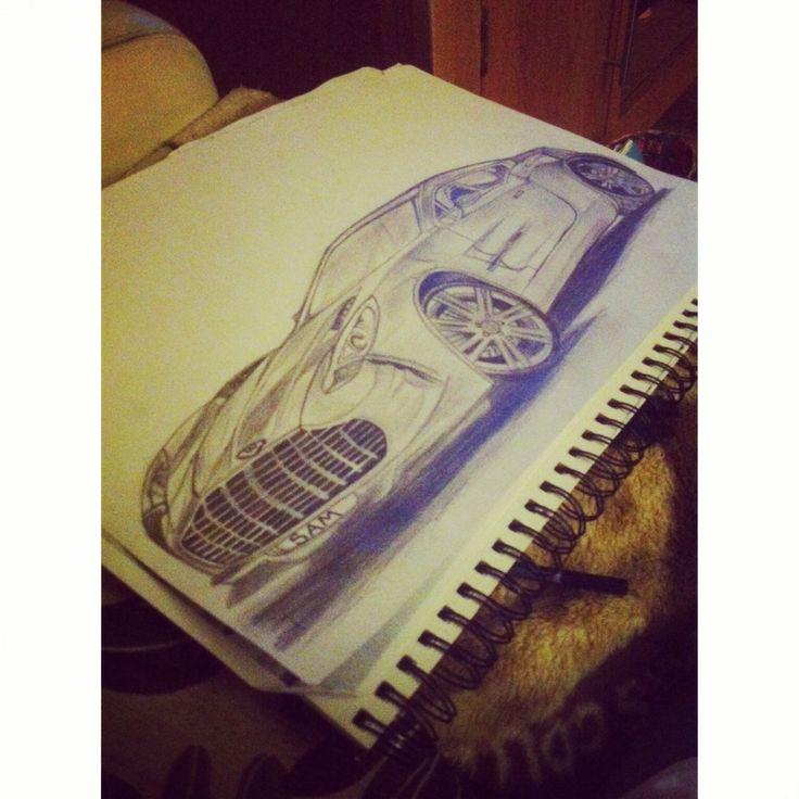 Aston Martin Sketch: Aston Martin, Drawings, Aston