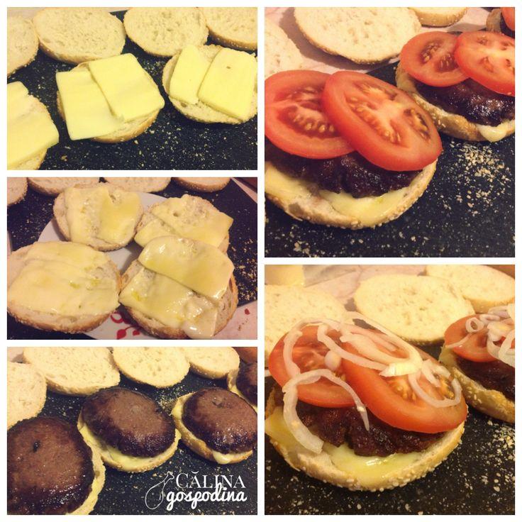 Burgeri acasa // Homemade burgers