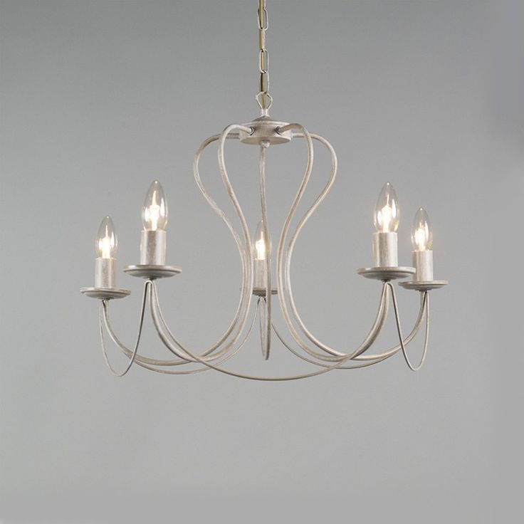 Chandelier Como 5 Taupe