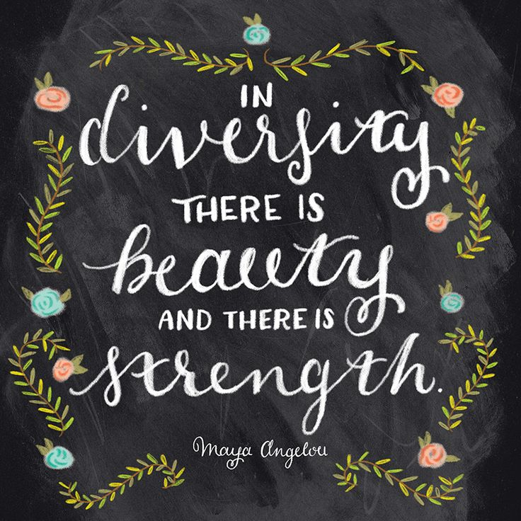 Diversity Quotes Extraordinary 30 Best Diversity Mural Images On Pinterest  Cultural Diversity . Review