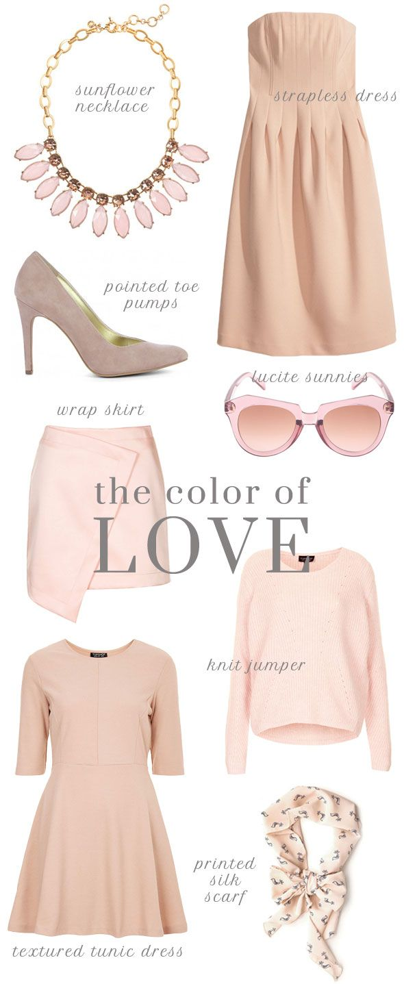 Poor Little It Girl - Blush and Nude Style for Valentine's Day