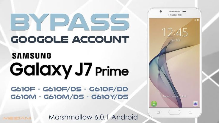 Bypass Google Account SAMSUNG J7 Prime Android 6.0.1 Marshmallow Remove,...