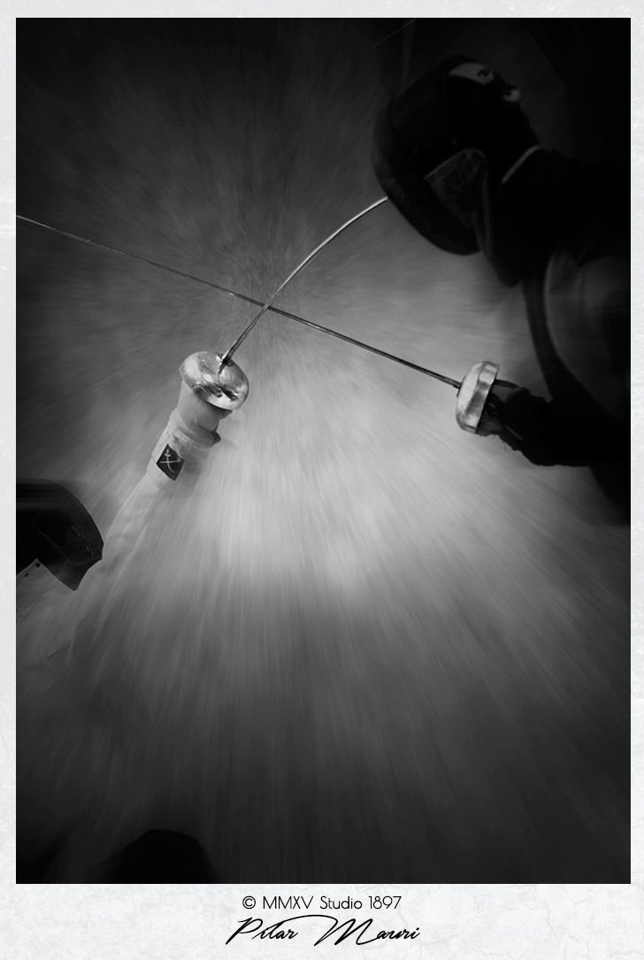 Portrait Photography  by Pilar Mauri studio1897.co.uk #photography #fencing #portrait #studio1897