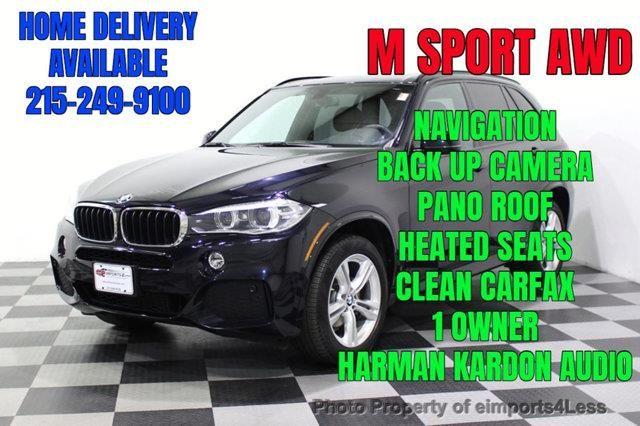 2016 Bmw X5 Certified X5 Xdrive35i Awd M Sport Package Bmw X5