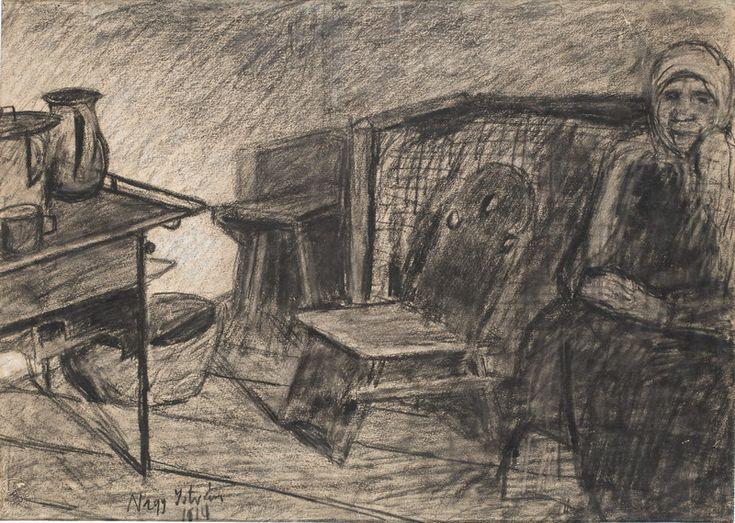 Nagy István: Anyám konyhája, 1914