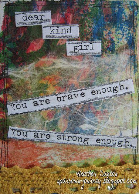 Heather Santos Brave Girls Club Truth Card Exchange, via Flickr. @Brave Girls Club