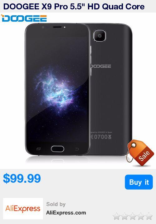 "DOOGEE X9 Pro 5.5"" HD Quad Core 4G LTE Smartphone 2GB RAM 16GB ROM Android 6.0 8.0MP 1280x720 fingerprint Mobile Phone * Pub Date: 16:36 Apr 17 2017"