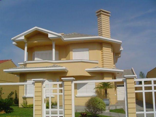 As 25 melhores ideias de pintura para casa exterior no - Pintura fachada exterior ...