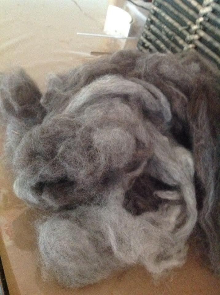 Washed fleece...