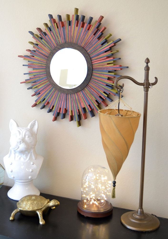 42 best images about decor on pinterest pennsylvania for Decorative crafts mirrors