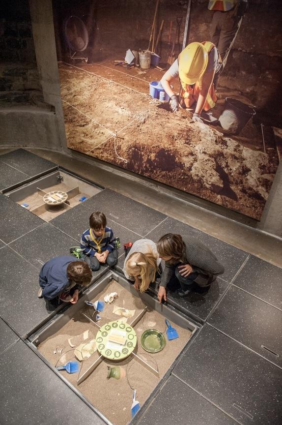 La Maison-des-Marins abrite l'atelier Archéo-aventure et son espace interactif inédit. | © Photo: Marc-Antoine Zoueki