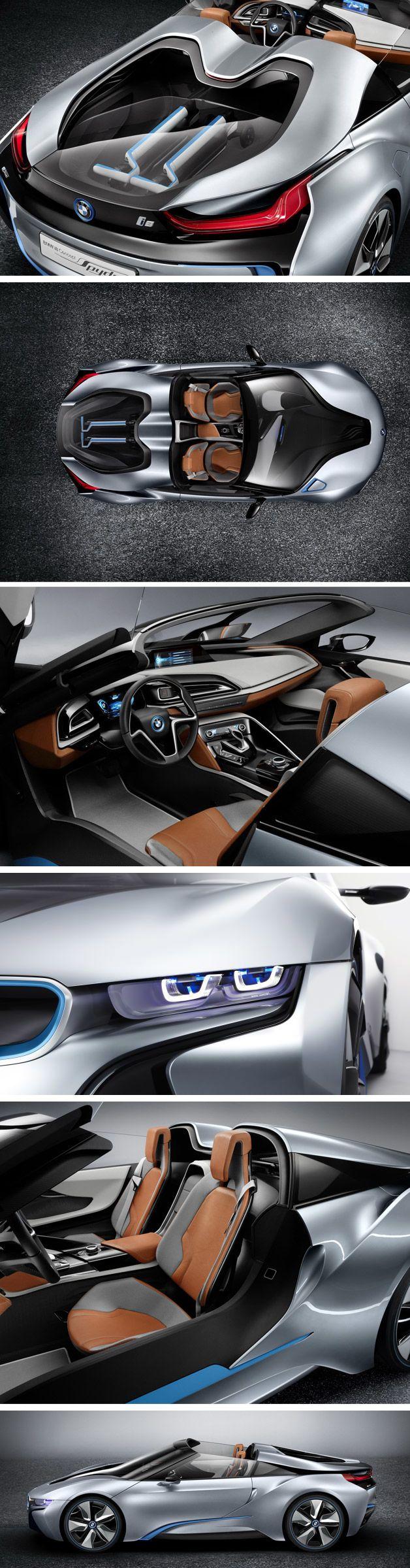 BMW Hybrid i8 Spyder – Novo carro conceito da BMW