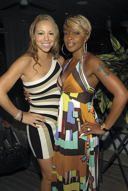 My favorites Mariah Carey & Mary J. Blige by zepzaplin, via Flickr