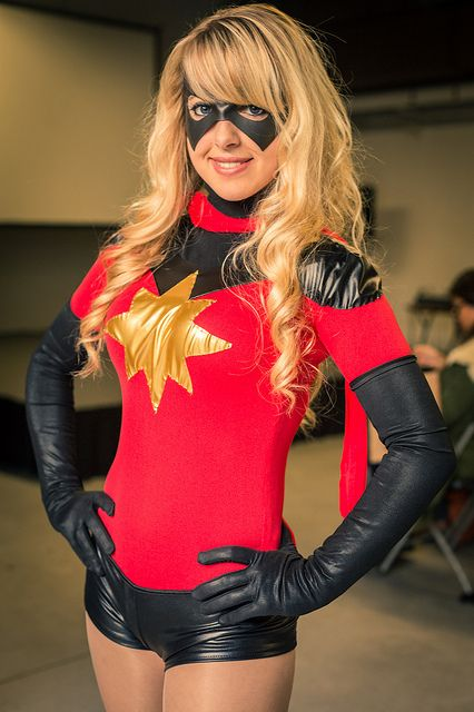 Paris comics expo 2012 - Miss Marvel | by discret_incognito78