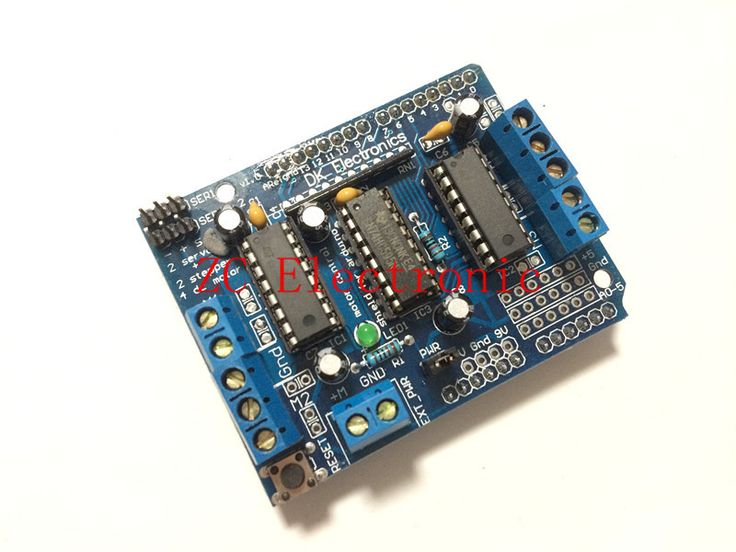 Best 20 arduino motor control ideas on pinterest Arduino motor control board