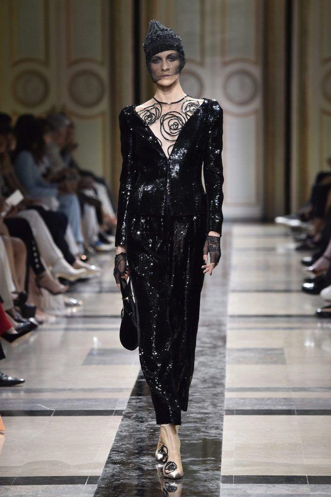 Săptămâna Modei Haute Couture: Armani Privé toamnă-iarnă 2017/18