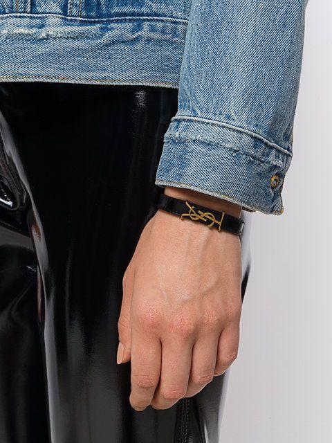 Saint Laurent 'Monogram' Armband