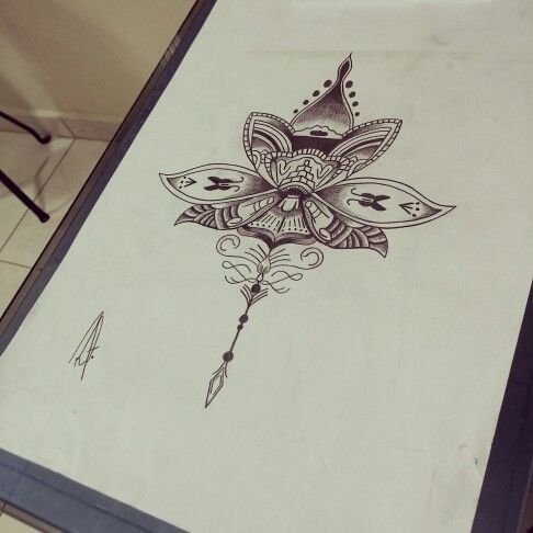 Mandala Lotus Disponível para tatuar #mandala #lotus #mandalla #blackwork #ink #blackwork #lines