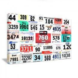 Ideas For How To Display Your Running Race Bibs And Medals