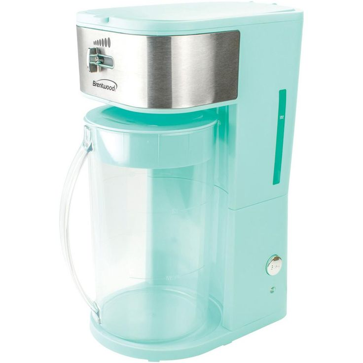 Brentwood 8cup blue iced tea and coffee makerkt2150bl